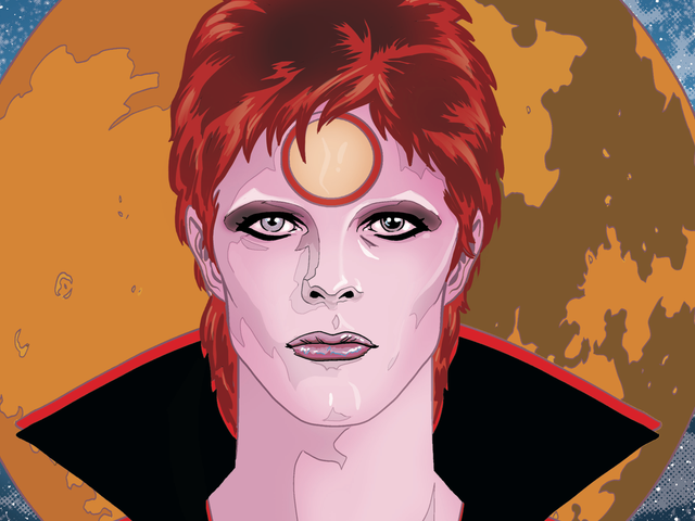 Michael Allred brings a legendary life to the page in this Bowie exclusive