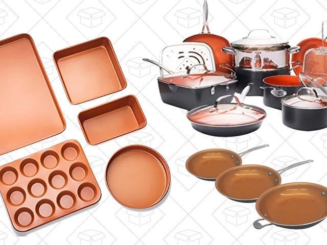 Add Some Discounted Copper Cookware To Your Collection