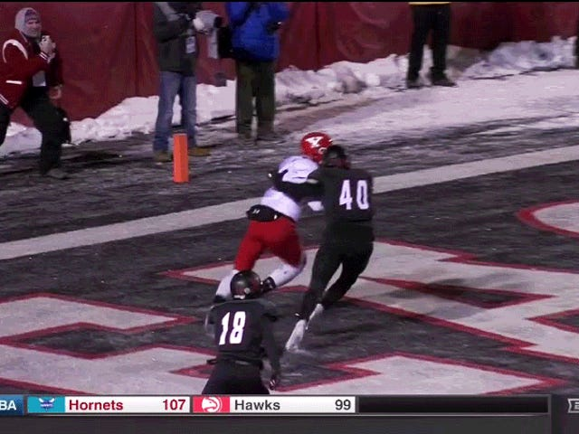Youngstown State Shocks Eastern Washington med sista sekunders Touchdown Catch