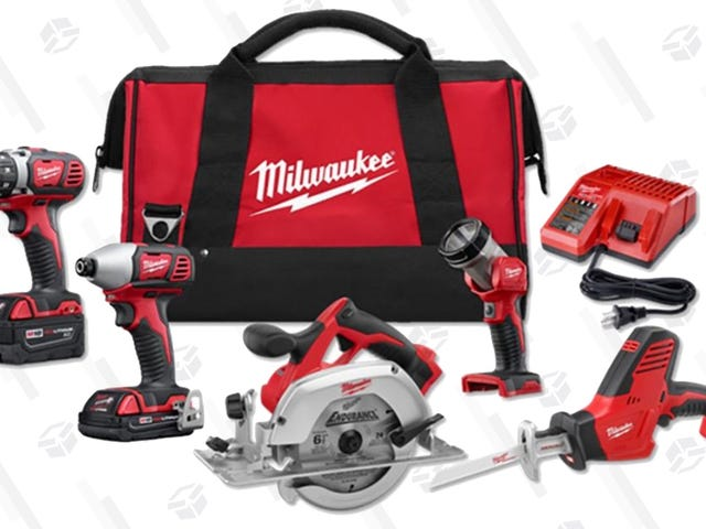 Invest In a Really Great Milwaukee Tool Set For $300