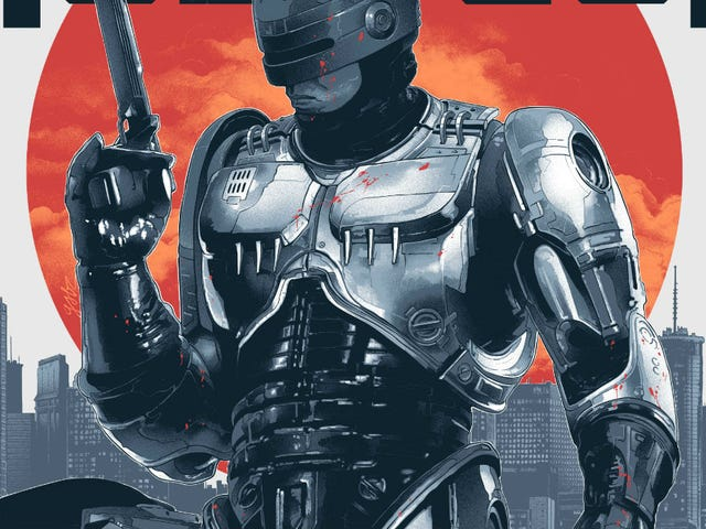 <i>RoboCop</i> Looks Better Than Ever in These Awesome New Posters