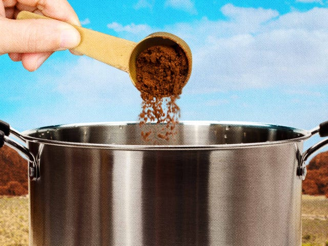 Instant coffee is better for cooking and baking than drinking