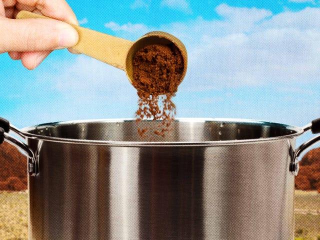 Kawa rozpuszczalna jest lepsza do gotowania i pieczenia niż picie