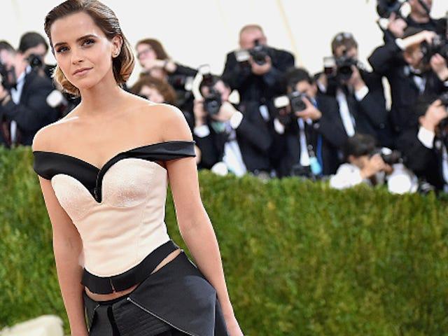 Emma Watson denkt dat de vergelijking van Trump en het beest behoorlijk leuk is