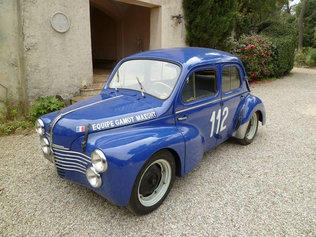 Tackling the Tour Auto in a Renault 4cv
