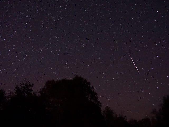 Наблюдайте за пиком Orionid Meteor Shower в эти выходные