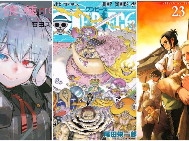 The Best-Selling Manga Of 2017 In Japan <em></em>