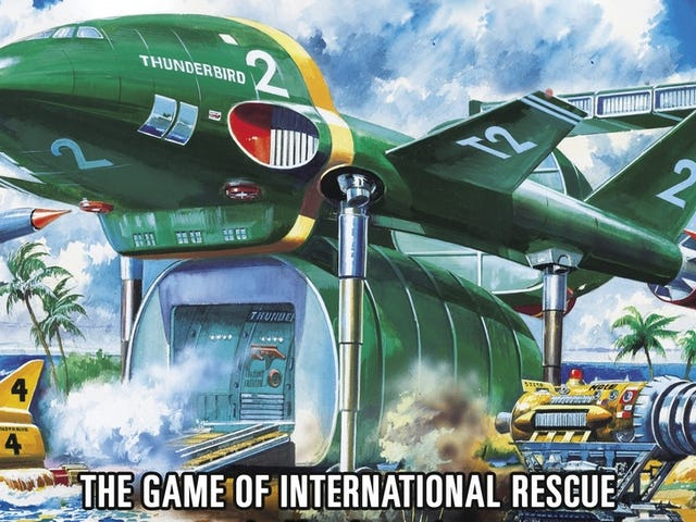 The Thunderbirds Cooperative Board Game is Go!