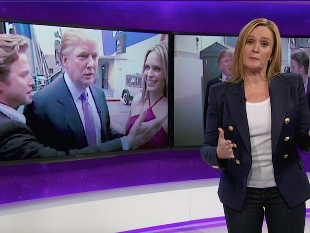 Sam Bee's Take On Pussygate oli arvoinen
