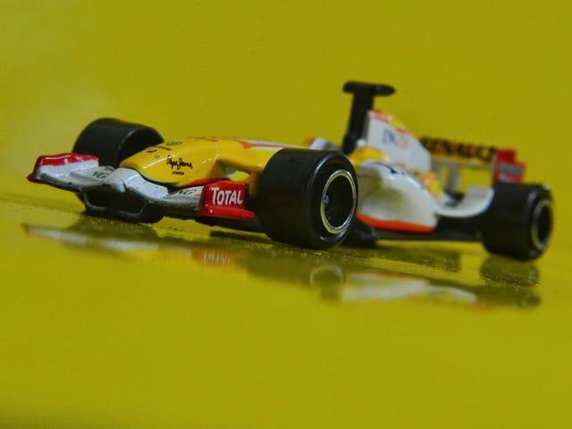 Ranskan perjantai ING Renault F1 -autolla