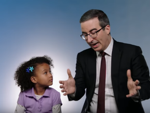 John Oliver teaches kids (and Trump) that robots aren't that scary on Last Week Tonight