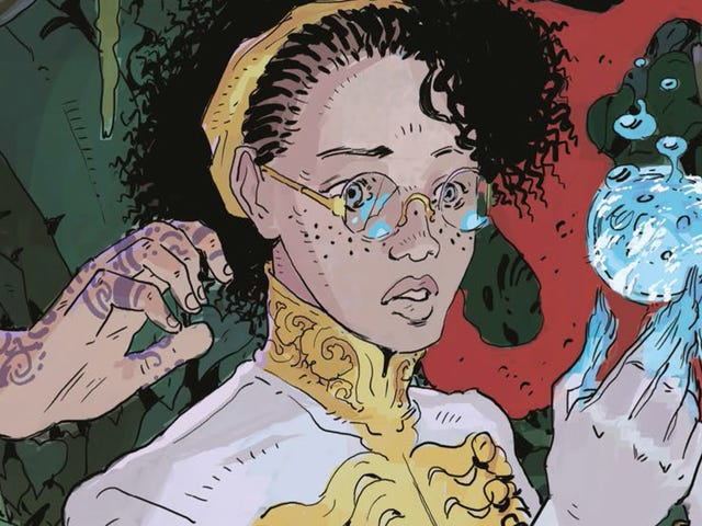 A warlord's daughter makes a daring escape in this Tartarus #2 exclusive