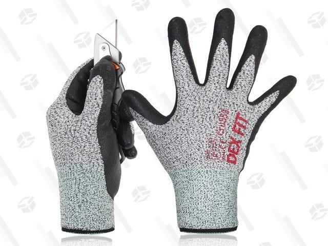 Estos guantes de trabajo ofrecen el mayor nivel de resistencia a los cortes