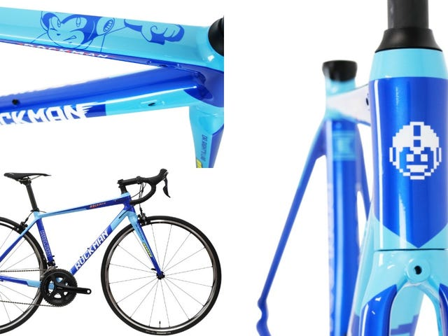 An Official Mega Man Bicycle