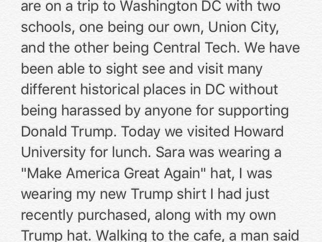 So, Two White Women in MAGA Hats Walk Onto an HBCU ...<em></em>