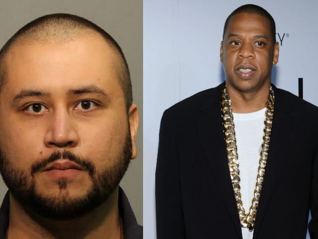 George ZimmermanSays He'll Beat Up, Feed Jay-Z to Alligators Over Trayvon Martin Doc