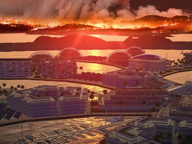 Nogle kryptokapitalister vil bare se verdensbrændingen