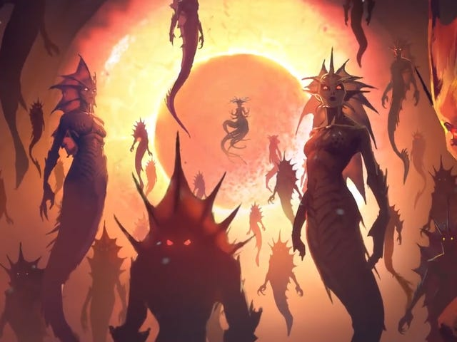 World Of Warcraft's 'Rise of Azshara' Update Will Take Us To The Land Of The Naga