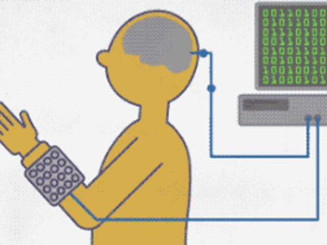 Brain Implant stelt de quadriplegic man in staat om <i>Guitar Hero</i> met zijn handen te spelen