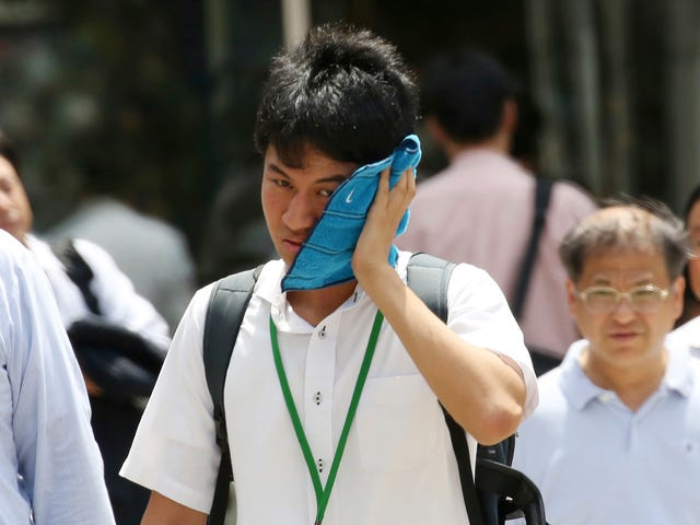 Japan Is the Latest Country to Break a Heat Record