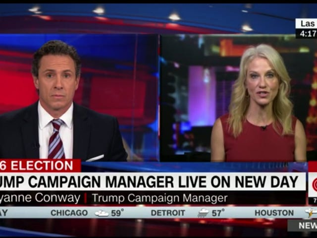 Trump Campaign Manager: The Press Is Both Biased for Clinton and Secretly Talking Shit About Her