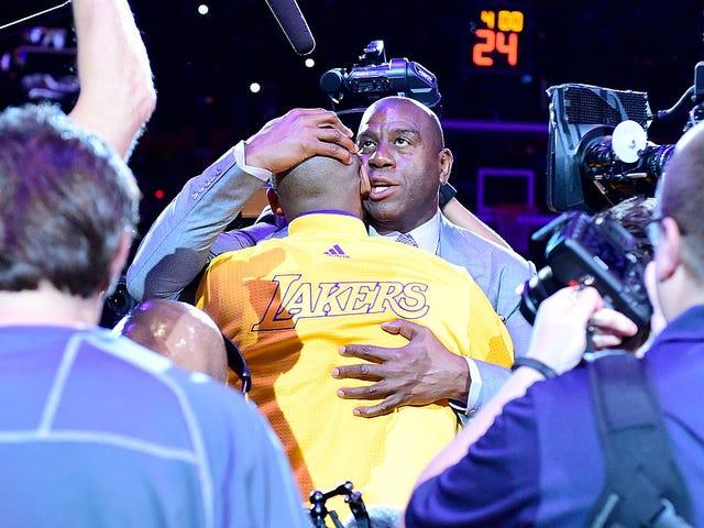 ESPN vs. ESPN: Raccrochage des hôtes sur la promotion de Magic Johnson
