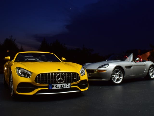 Diecasts After Dark: BMW Z8 or AMG GTC?