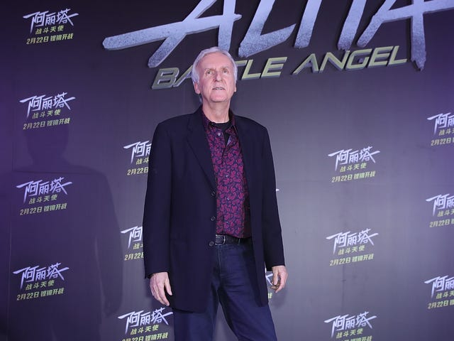 "James Cameron says ""people need to wake the fuck up"" about climate change"