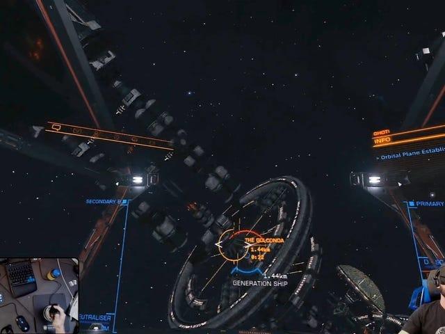 Elite: Pemain Berbahaya Cari Kapal Purba Penuh Orang Hidup