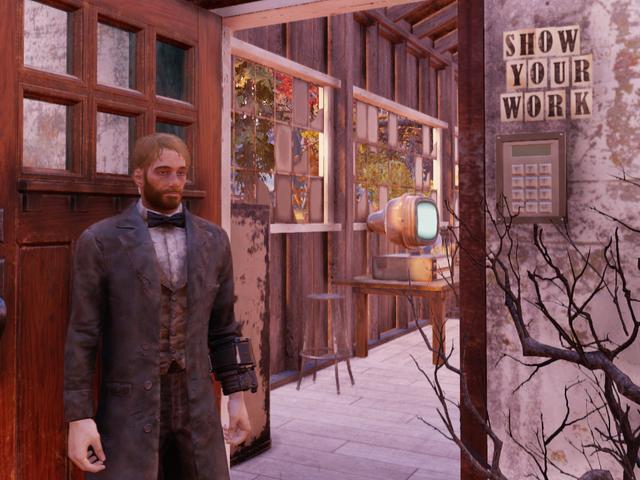 Fallout 76 Camp tra tấn người chơi bằng toán học