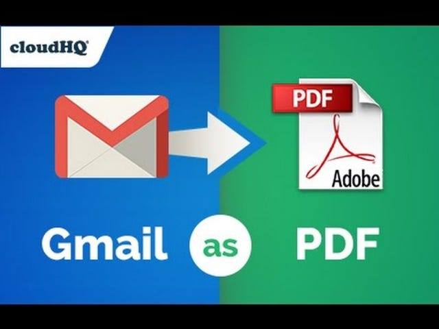 Save Emails to PDF With This Chrome Extension