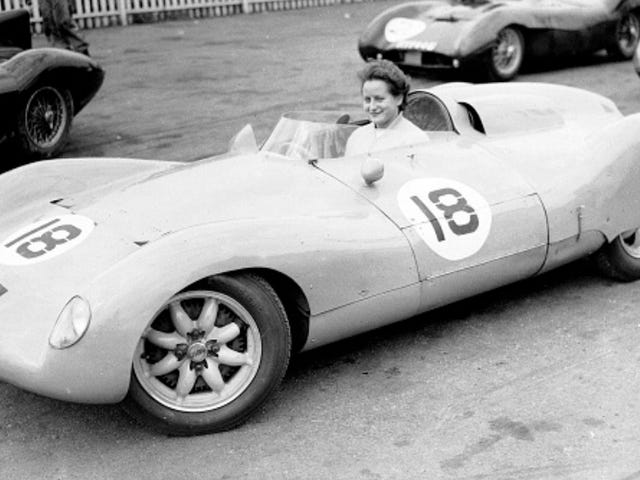 "Britain's Most Accomplished Female Racer is The Name Behind Hillclimb's ""Burt Strut"""