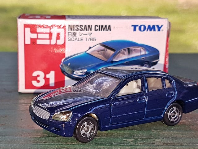 Land of the Rising Sun-Day: Nissan Cima