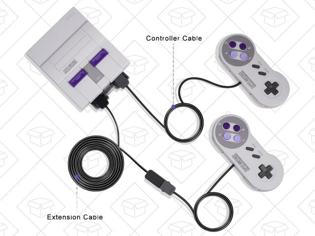 Fix the SNES Classic's Biggest Problem With a Pair of Cheap Extension Cords