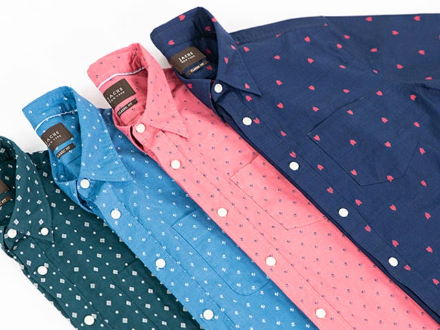 Save 60% On Jachs Short Sleeve Button Downs, Just In Time For Summer (From $18)