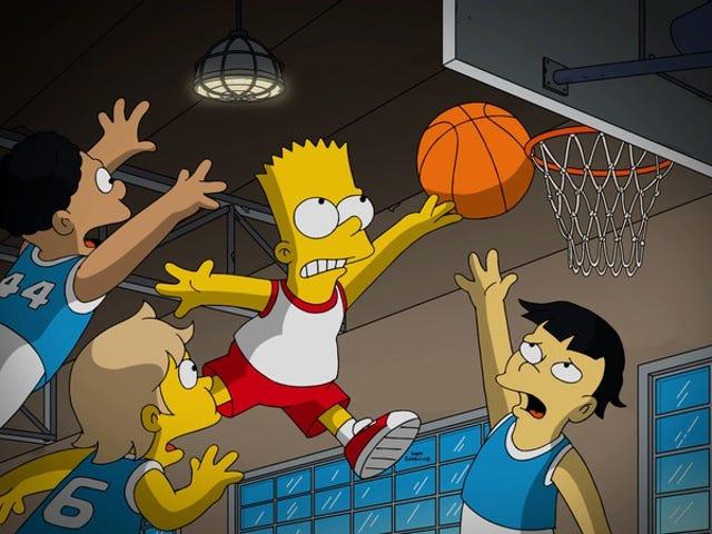 The Simpsons chuyển sang chế độ phim tài liệu thể thao vì thú vị của nó