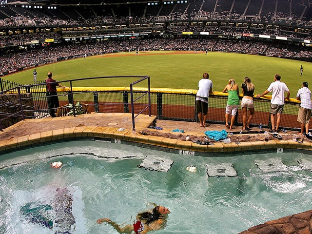 Diamondbacks Trying To Set Land Speed Record In Stadium Financing Scam