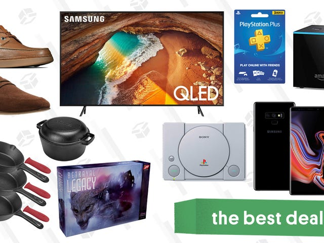 Friday's Best Deals: E3 Gaming Deals, Samsung QLED TVs, Clarks and More