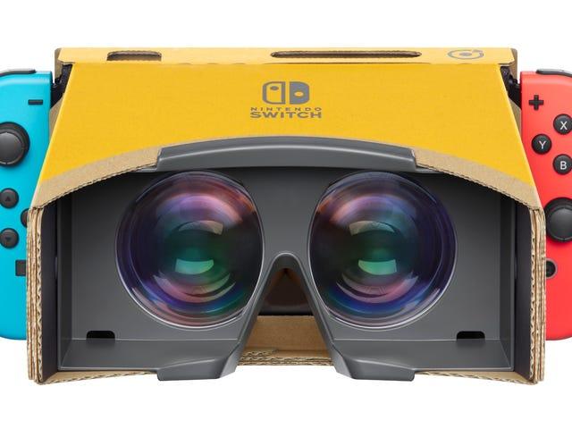 Mario Odyssey, Breath Of The Wild Will Support Labo VR