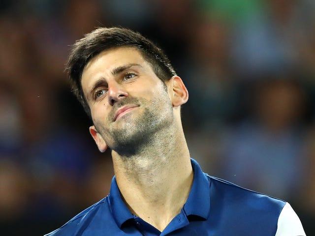 Novak Djokovic kan uitgebeend zijn