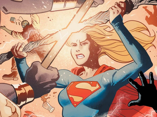 Supergirl searches for answers to Krypton's mysteries in this exclusive