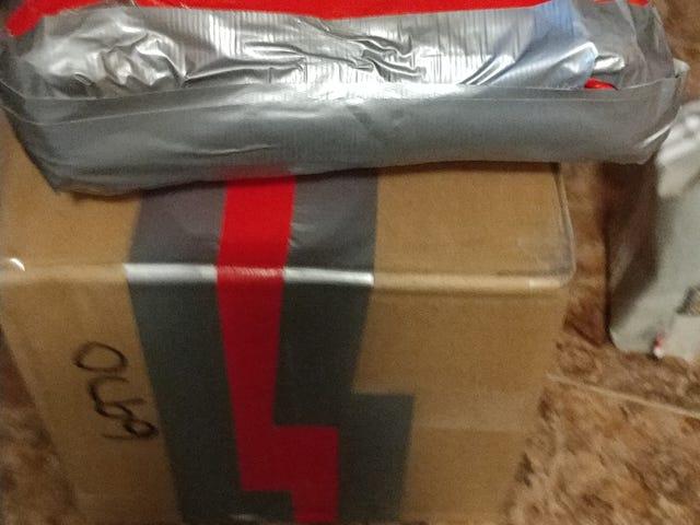 Secret Senna Delivery Received!