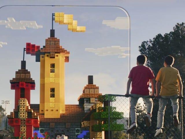 Microsoft Announces Minecraft Earth, A Minecraft Version Of Pokémon Go