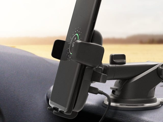 Add a Qi Pad To Your Car For 15% Off