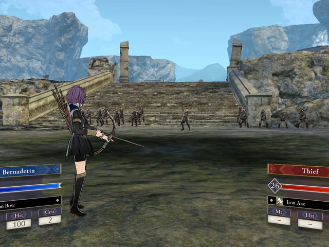 The Fire Emblem: Three Houses Battle System Is Elegant In Its Complexity