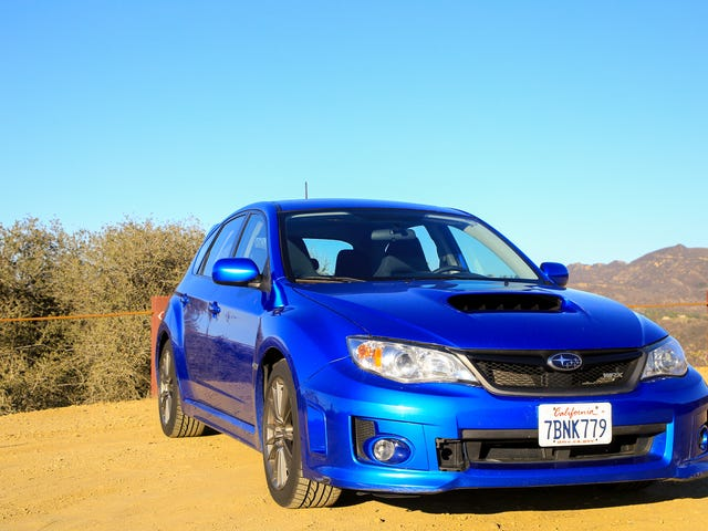 Review: 2013 Subaru Impreza WRX