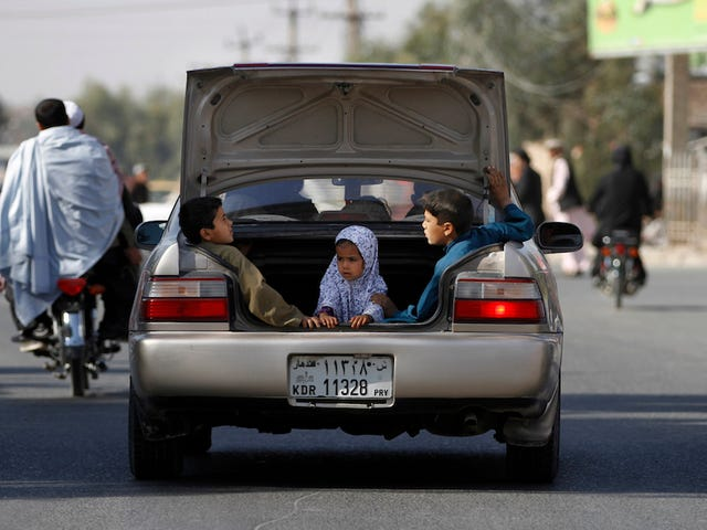 Today's Hero Is Sara Bahayi, Afghanistan's First Female Taxi Driver