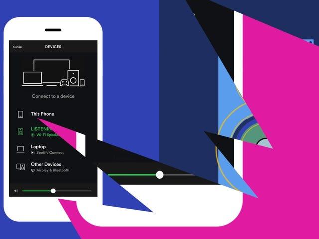 Los usuarios de Spotify con cuentas gratuitas ahora pueden usar sus dispositivos como un altavoz remoto