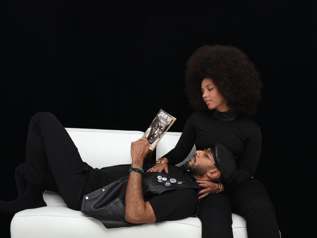 Alicia Keys and Swizz Beatz on Cover of Cultured Magazine as a Black Panther Power Couple