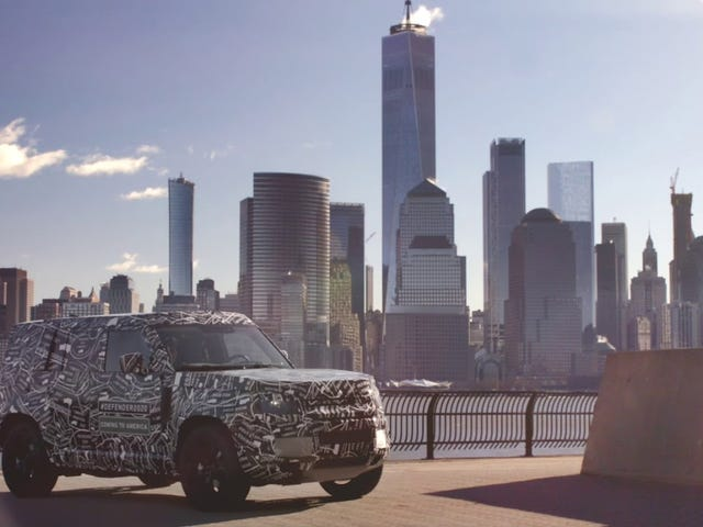 2020 Land Rover Defender - What does HHFP say about it?